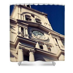 St Louis Cathedral Shower Curtain by Erin Johnson