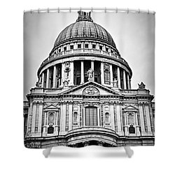 St. Paul's Cathedral In London Shower Curtain by Elena Elisseeva