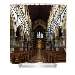 St Pauls Cathedral Shower Curtain by Yew Kwang