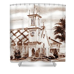 St. Pauls Episcopal Church IIi Shower Curtain by Kip DeVore
