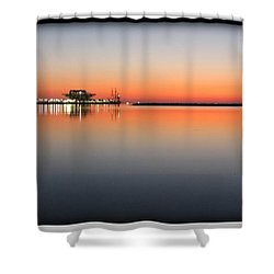 St. Pete Sunrise Shower Curtain