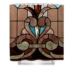 Stained Glass Lc 06 Shower Curtain by Thomas Woolworth