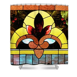 Stained Glass Lc 07 Shower Curtain by Thomas Woolworth