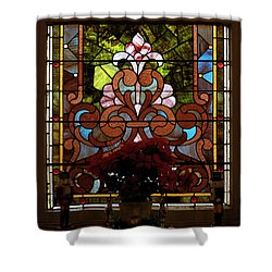 Stained Glass Lc 17 Shower Curtain by Thomas Woolworth