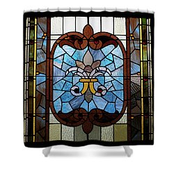 Stained Glass Lc 19 Shower Curtain by Thomas Woolworth