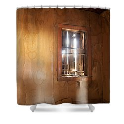 Stains Of Time Shower Curtain by Fran Riley