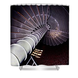 Stairs To The Light Shower Curtain by Skip Willits