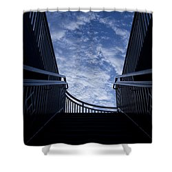 Stairway To Heaven Shower Curtain by Joel Witmeyer
