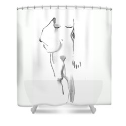 Stand Down Shower Curtain