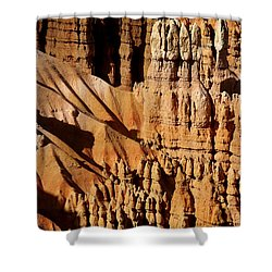 Shower Curtain featuring the photograph Stand Tall by Vicki Pelham