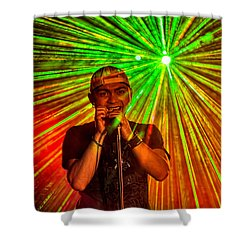 Star Burst Shower Curtain by Christopher Holmes