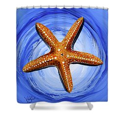 Star Of Mary Shower Curtain