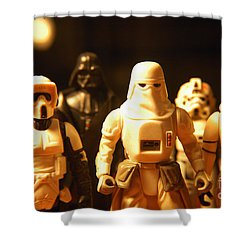 Star Wars Gang 1 Shower Curtain by Micah May