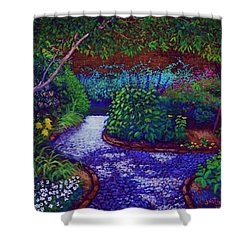 Southern Garden Shower Curtain by Jeanette Jarmon
