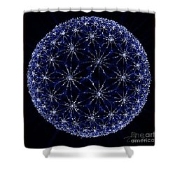 Starry Night Shower Curtain by Danuta Bennett