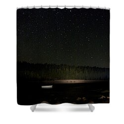 Stars Over Otter Cove Shower Curtain by Brent L Ander