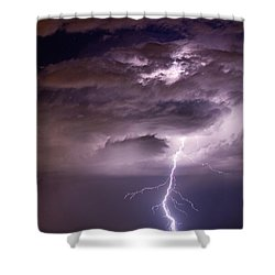 Starting High Shower Curtain by James BO  Insogna