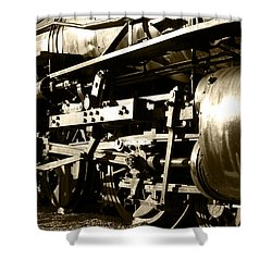 Steam Power II Shower Curtain by Ricky Barnard