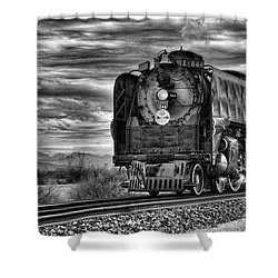 Steam Train No 844 - Iv Shower Curtain