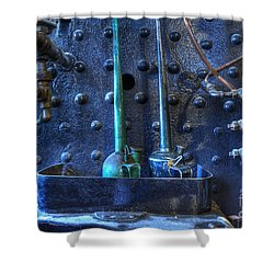 Steampunk 3 Shower Curtain by Bob Christopher