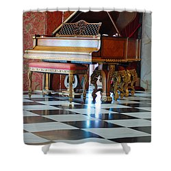 Steinway Shower Curtain by Robert Meanor