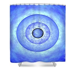 Stellar Core Before Grb Event, Computer Shower Curtain by NASA / Science Source