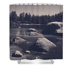 Step By Step Shower Curtain by Laurie Search