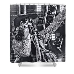 Shower Curtain featuring the photograph Steven T by Traci Cottingham