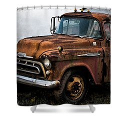 Still Going Shower Curtain by Bill Cannon