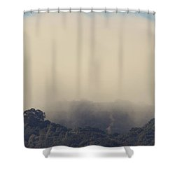 Still Hanging On Shower Curtain by Laurie Search