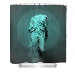 Still Life - Robed Figure Shower Curtain