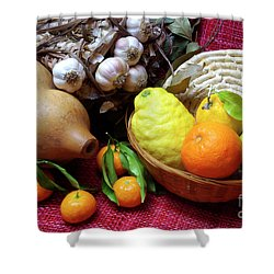 Still-life Shower Curtain by Carlos Caetano