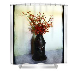 Shower Curtain featuring the photograph Still Life With Berries by Judi Bagwell