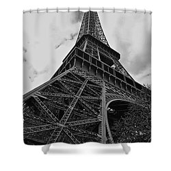 Shower Curtain featuring the photograph Still Standing by Eric Tressler