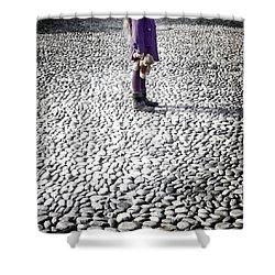 Still Standing Shower Curtain by Joana Kruse