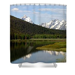 Still Waters Shower Curtain by Living Color Photography Lorraine Lynch