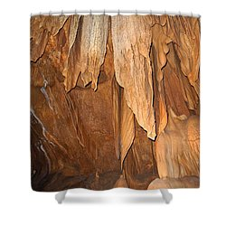 Stone Fold Elegance Shower Curtain