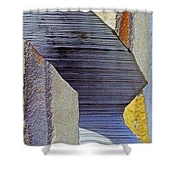 Stone Geometrics Shower Curtain