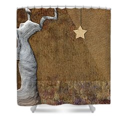 Stone Men 30-33 - Les Femmes Shower Curtain by Variance Collections