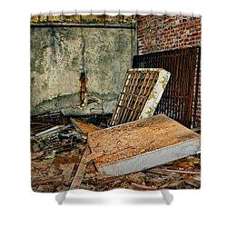 Stonehaven Rehab Shower Curtain by Steve Harrington