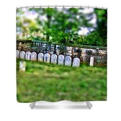 Stones River Battlefield Shower Curtain by EricaMaxine  Price