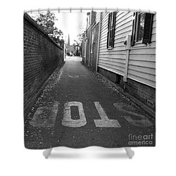Shower Curtain featuring the photograph Stop by Andrea Anderegg