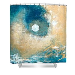Storm Shower Curtain by Ana Maria Edulescu