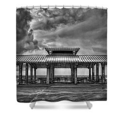 Storm Before The Calm Shower Curtain by Evelina Kremsdorf
