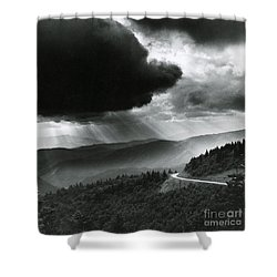 Storm Cloud Shower Curtain by Bruce Roberts and Photo Researchers