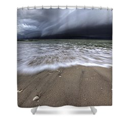 Storm Rolling Shower Curtain