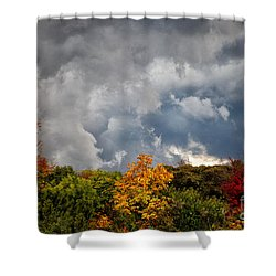 Storms Coming Shower Curtain by Ronald Lutz