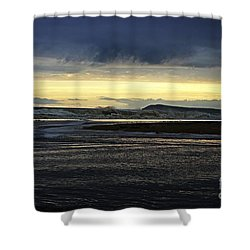 Shower Curtain featuring the photograph Stormy Morning 2 by Blair Stuart