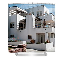 Strand Architecture Manhattan Beach Shower Curtain