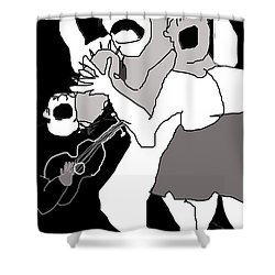 Street Ministry Shower Curtain
